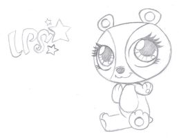 LPS - Penny Ling -Toy Sketch- by rmsaun98722