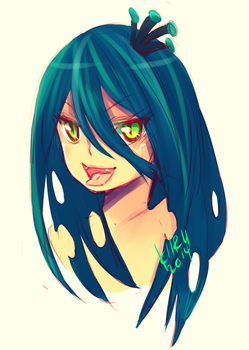 Queen Chrysalis Humanized ver. by KiiruSama