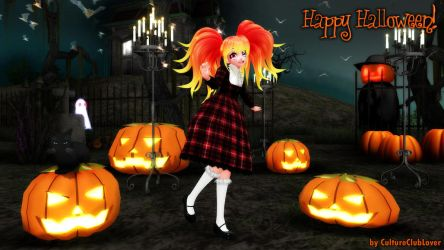 Happy Halloween! + Halloween Gift (Doll) Download by CultureClubLover