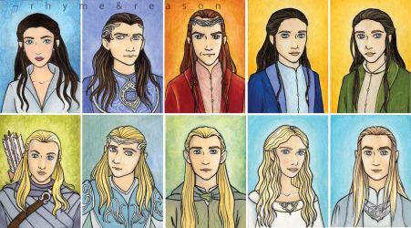 elves of middle earth by rhymeandreason