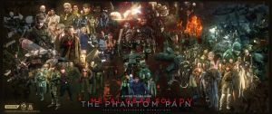 Metal Gear Solid V The Phantom Pain (1987-2015) by marblegallery7