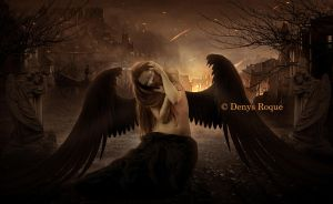 Dark Angel by DenysDigitalArtwork
