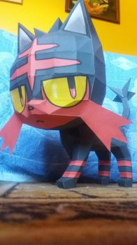 Litten Papercraft 2 by gabiman