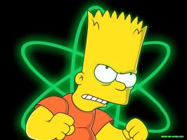 Mutant Bart by maryjuver