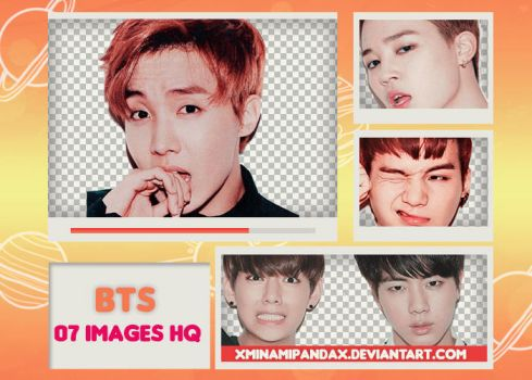 Pack Png 245 // BTS (CECI Limited Photocards) by XMinamiPandaX