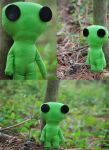 Little Visitor (REAL ALIEN PHOTO) by Siegfried1298