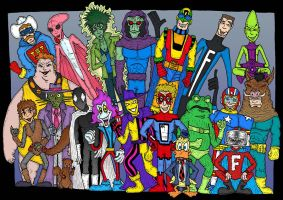 Great Lakes Avengers Reserves by Lordwormm