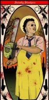 St. Leatherface of Texas by Kyohazard