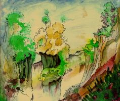 Ink Valley View by TheOldGoat1955