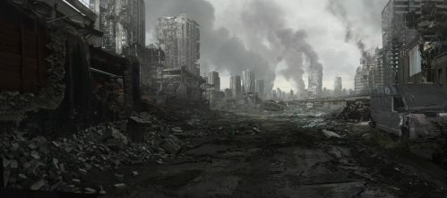 City Ruins 002 by everlite