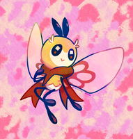 bee fly by miiniiru