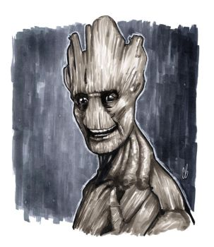 I AM GROOT! by BigChrisGallery