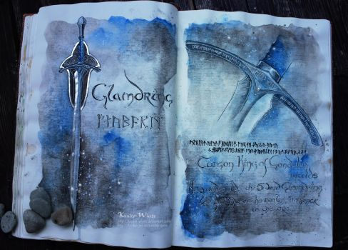 Glamdring: the Sword of Gandalf by Kinko-White