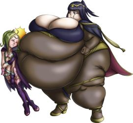 Tharja Belly Bumps Nowi by GAIN-OVER