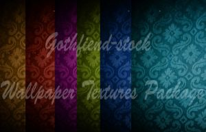 Wallpaper Package by gothfiend-stock
