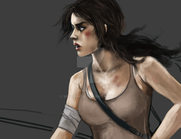 Tomb Raider Lara Croft by minoanoa