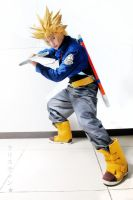 Super Saiyan future Trunks by jeffbedash325