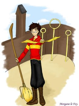 James Potter by Morgane-le-Fey