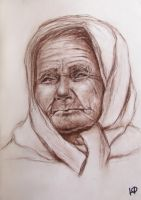 Old woman by Natalie-Skarlet