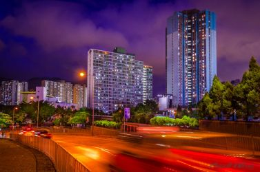 Colors at Night by Russellbk