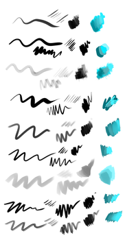 Sevens brushes [Clip Studio Paint] by Hey-Seven