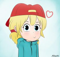 Lana Loud Anime style by Theloudhousefan