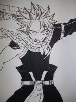 Fairy Tail Natsu Dragneel by ever-juvia