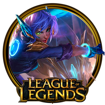 Super Galaxy Nidalee Dock Icon by OutlawNinja