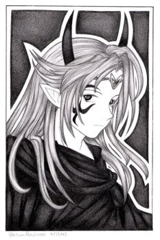The Dark Lord - Silvanis by DinchtGirlie