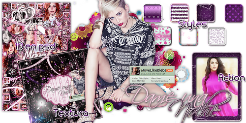 +Dame una noche - Pack by MoveLikeBiebs