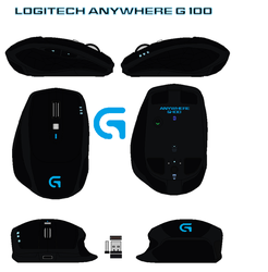 Logitech Anywhere G-100 by bagera3005