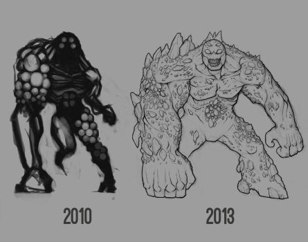 Infected Behemoth, then and now [JAC] by Paterack