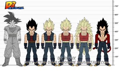 DBR: Vegeta v6 by The-Devils-Corpse