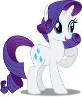 Vector #207 - Rarity #7 by DashieSparkle