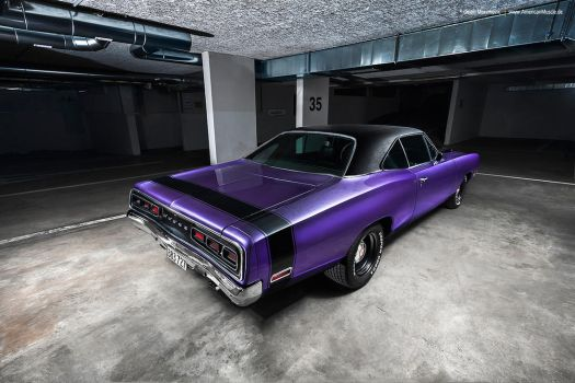 Plum Crazy 1970 Dodge Coronet - Shot 11 by AmericanMuscle