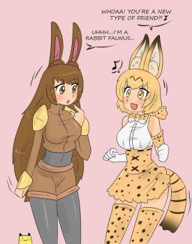 Velvet and Serval by Tikoriko
