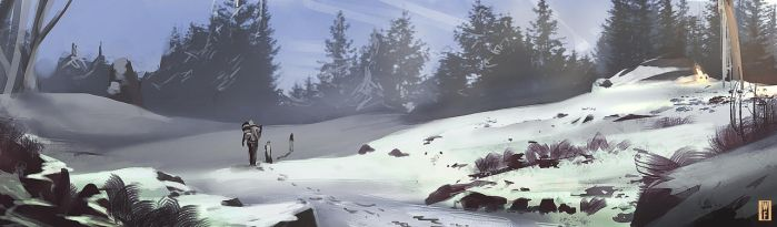 White Forest Speedpainting by SoldatNordsken