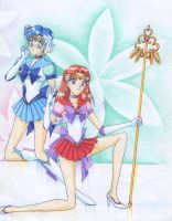 Sailor Senshi GX -colour- by nephrite-butterfly