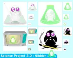 Science Project 2.0 : Nibbler by troyboydesign