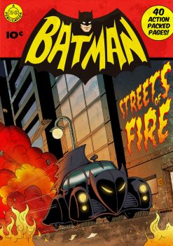 Batmobile Streets of Fire by MikeMahle