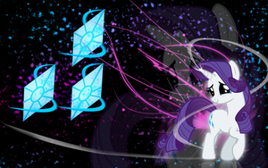 Rarity Wallpaper by BronyXceed