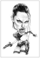 Angelina Jolie by truezguby