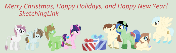 Merry Christmas 2013! (#2) by Fullmetal-Link