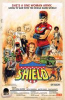 The Shield #1 Variant Cover by RobertHack