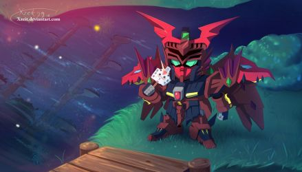 Epyon and the Forth of July by Xzeit