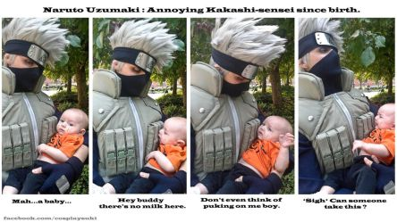 Daddy Kakashi ? by Suki-Cosplay