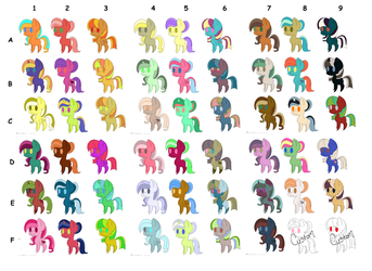 25 Followers - Salon Credit Adopts [OPEN] by ThePonySalon