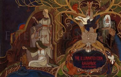 FOTN: Illuminated Edda cover by Unita-N