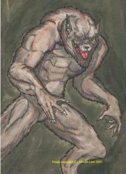 The Classic Werewolf by enochian69