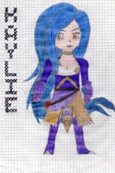 Kaylie the Fist Fighter by Calexio3